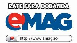 Plata in rate fara dobanda prin eMag