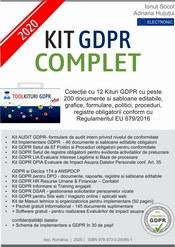 Profita de oferta si comanda acum Kit GDPR COMPLET 2020 format din 12 Kituri GDPR cu peste 200 documente + gratuit alte 145 documente si software gratuit