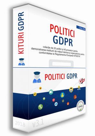 Kit20 Politici si 45 Proceduri GDPR