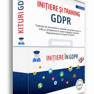 KIT Initiere si Training GDPR