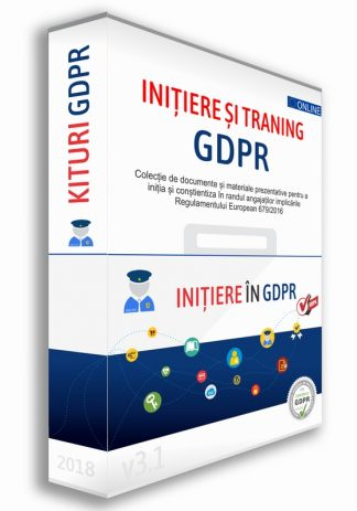 KIT Initiere si Training GDPR