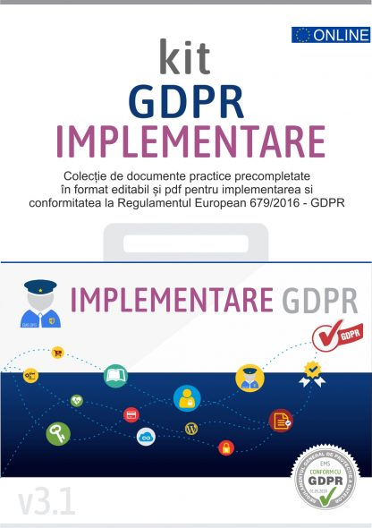 Kit GDPR toolkit implementare