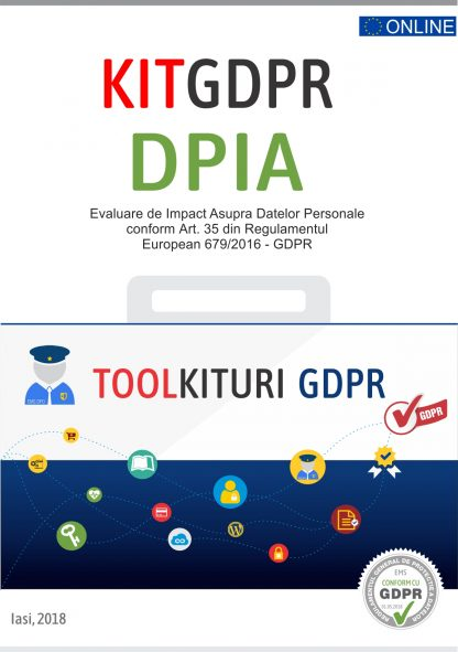 Kit GDPR toolkiturikit gdpr dpia