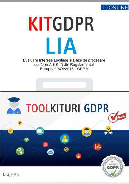 Kit GDPR toolkiturikit gdpr lia