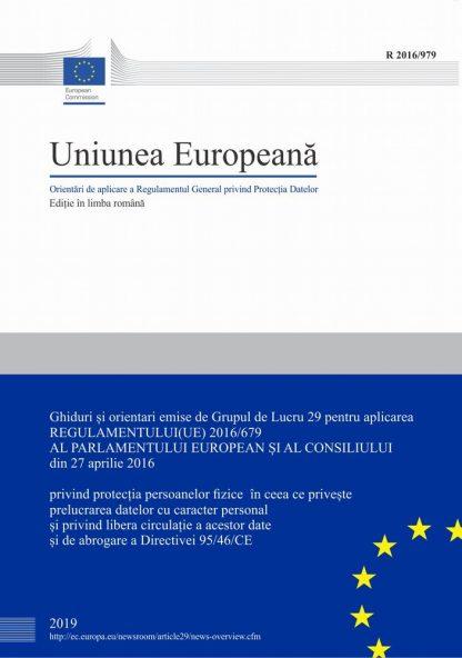 Kit GDPR Ghiduri EU coperta 2