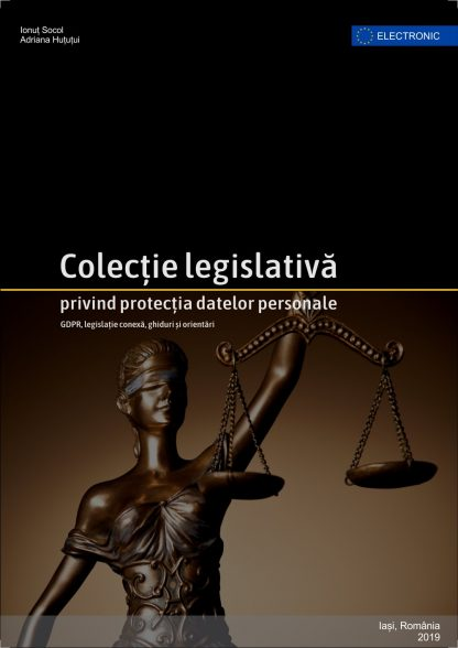 Kit GDPR ISBN colectie legislativa 4