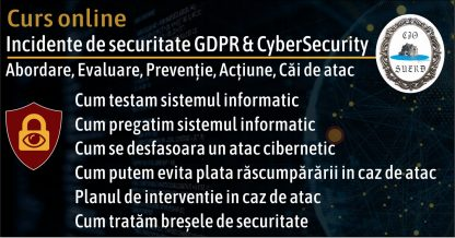 Kit GDPR curs brese si incidente securitate gdpr cybersecurity slide 4