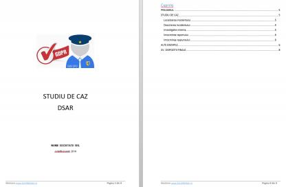 Kit GDPR kit gdpr dsar studiu de caz