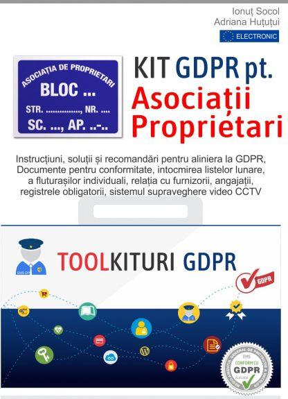 Kit GDPR pentru Asociatii de proprietari