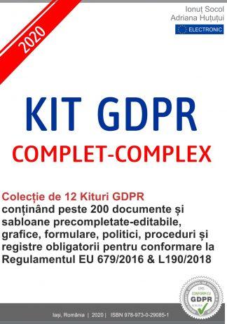 kit gdpr complet complex 2020