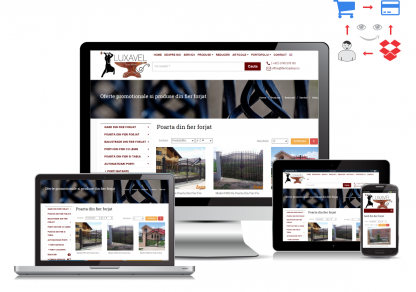 exemplu de magazin online eb www.fierforjatiasi.ro