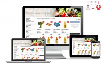 exemplu de magazin online