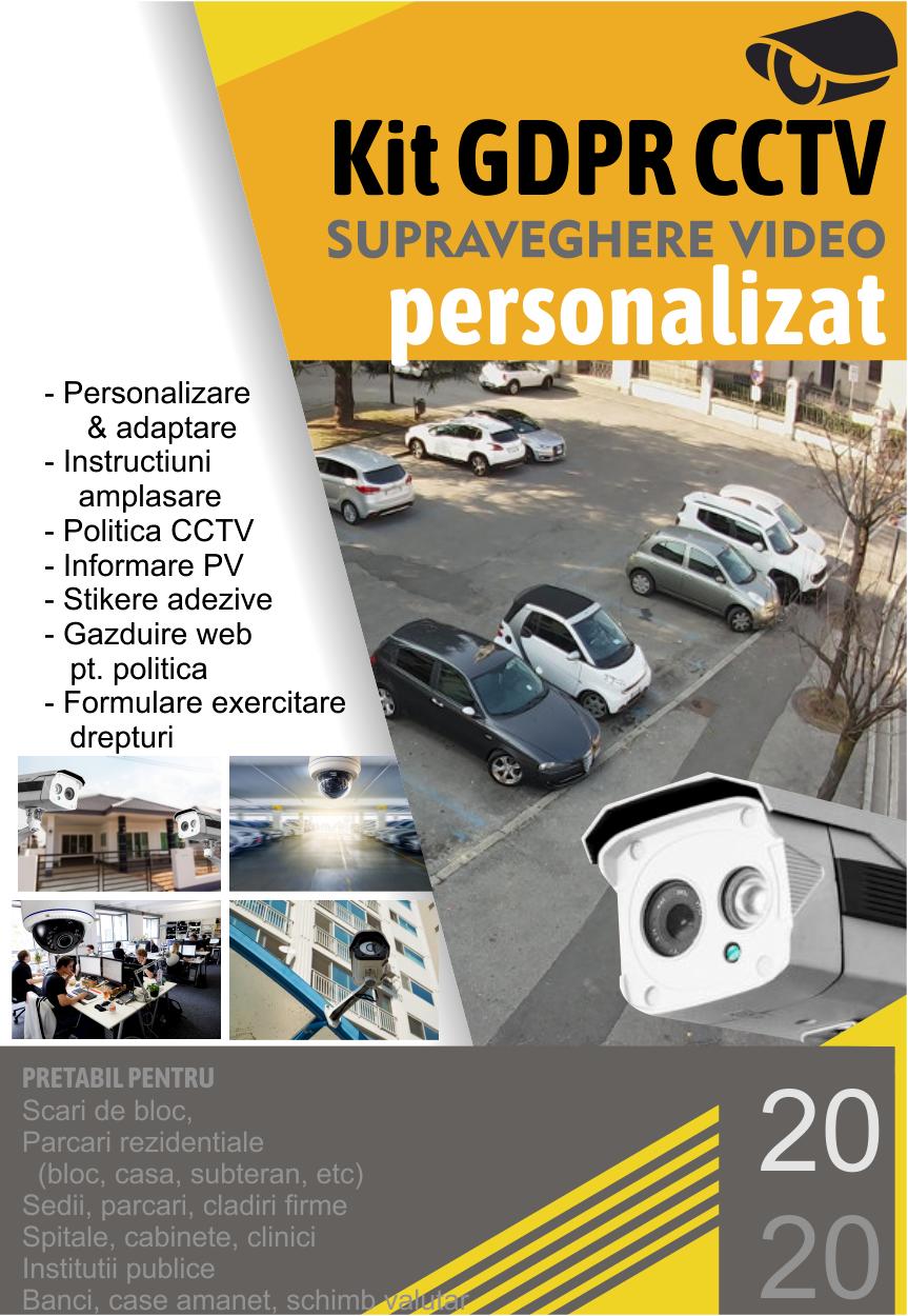 kit gdpr cctv personalizat