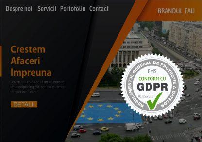 Servicii implementare GDPR pentru site web