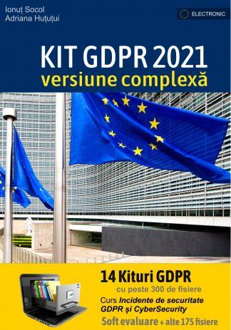 Kit GDPR 2021 versiune Complexa cu 14 Kituri GDPR + Curs Incidente Securitate + alte 175 documente si software gratuit